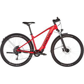 FOCUS Whistler² 6.9 EQP E-MTB Hardtail red
